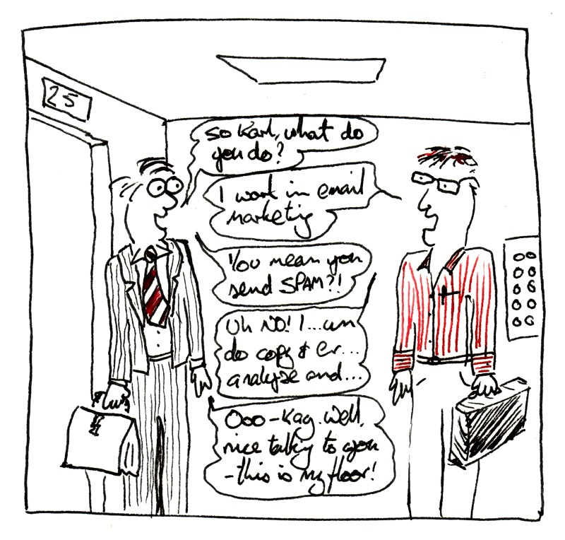 Why not draw your elevator pitch?