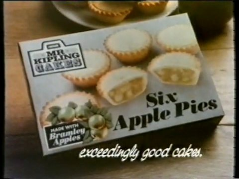 Mr Kipling advert 1985